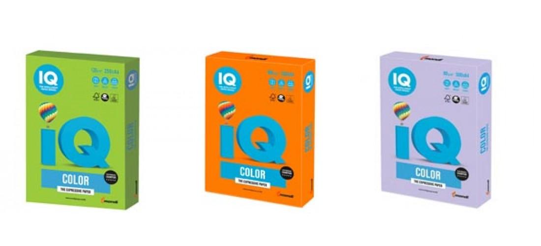 Папір кольоровий IQ Color.