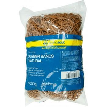 Резинки для денег каучуковые 1000 г. Natural 5509