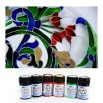 Краски по стеклу и керамике