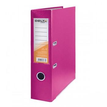 Папка-регистратор Delta 7,5 см, розовая D1714-05C