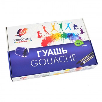 Гуашь Луч Классика, 24 цвета 28С1681-08