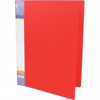 Папка-швидкозшивач пластик Clip B червона