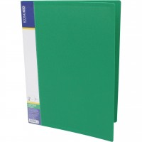 Папка-швидкозшивач пластик Clip B зелена