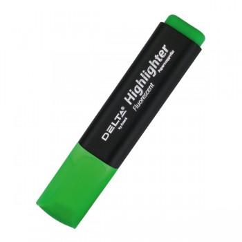 Маркер Delta Highlighter D2501-04, 2-4 мм, зеленый
