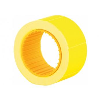 Ценники 30х40 мм Economix 150 шт, желтые