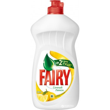 Fairy для мытья посуды Сочный лимон 500 мл