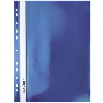 Папка-скоросшиватель Economix Light (Econom) А4, синяя