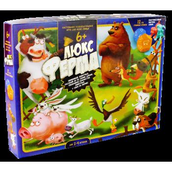Игра настольная большая Ферма ЛЮКС G-FL-01-01 Danko Toys