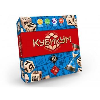 Настольная игра КубикУм Danko Toys