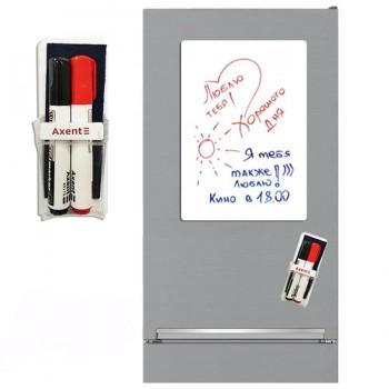 Магнитно-маркерная доска на холодильник 45х30 см