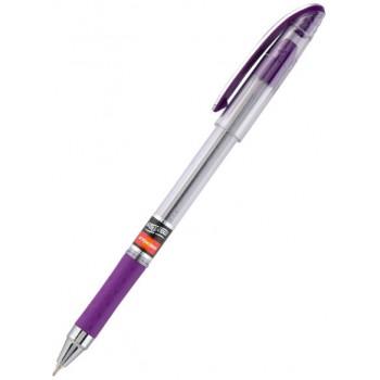 Ручка шариковая масляная Unimax Maxflow, фиолетовая UX-117-11