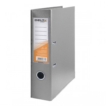 Папка-регистратор Delta 7.5 см серая D1714-03C