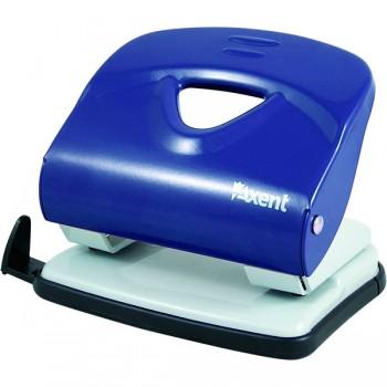 Дырокол Axent Exakt-2 металлический, 30 листов, синий 3930-02-A