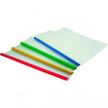 Папка-скоросшиватель с планкой, 2-65 л