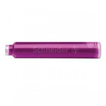 Патроны к перьевой ручке , фиолетовые