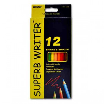 Карандаши цветные Marco Superb Writer, 12 цветов 4100-12CB
