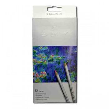 Карандаши цветные Marco Raffine, 12 цветов 7100-12CB