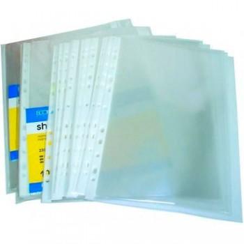 Файл А4 Economix, 40 мкм (100 шт.), глянцевый, E31107