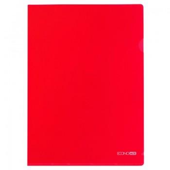 Папка-уголок Economix А4 плотная, красная E31153-03