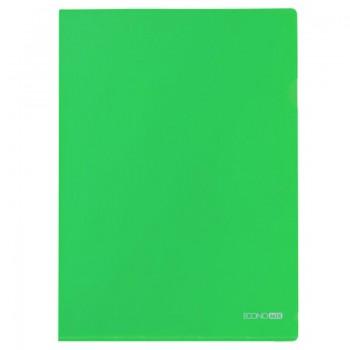 Папка-уголок Economix А4 плотная, зеленая E31153-04