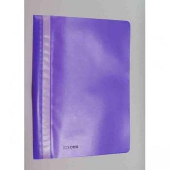 Папка-скоросшиватель А4, фиолетовая