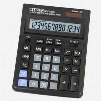 Калькулятор SDC-554, 14 разрядов