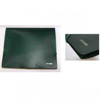 Папка-бокс пластиковая А4 40мм на резинках, ECONOMIX