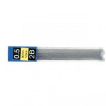 Грифели к механическим карандашам 0,5мм  2B