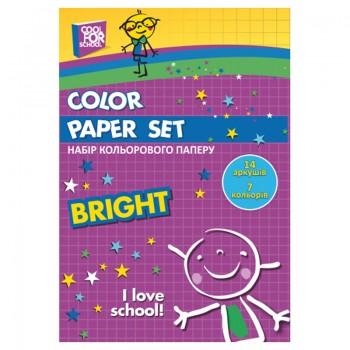 Набор цветной бумаги 8 цветов 16 л, 70 г/м CF21103