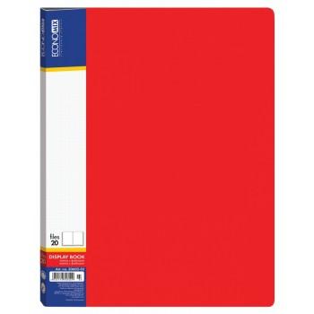 Папка 20 файлов красная