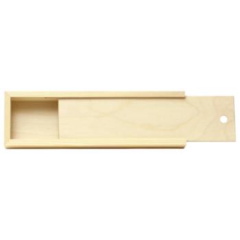 Пенал для кистей деревянный ПК2 35*4,9*3см