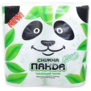 Туалетная бумага Снежная панда Классик 4 шт