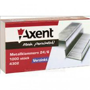 Скобы №24 Pro Axent