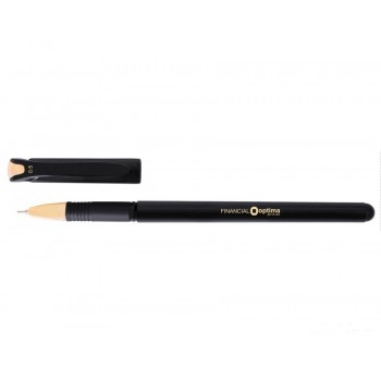 Ручка гелевая Optima Financial, синяя
