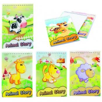 Блокнот Animal Story A6