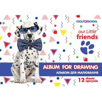 Альбом для рисования 12 листов на скобе CF60905-02