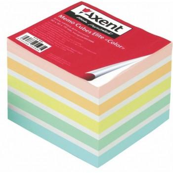 Бумага для заметок Axent Elite Color 90х90х70 мм 8028-А