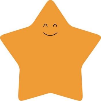 Стикеры Axent Star 70*70 мм, 50 л,  2444-03