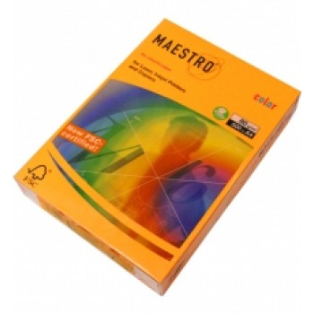 Бумага А4 Maestro Color Neon Orange (оранжевый)