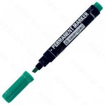 Маркер 8576 Permanent клиновидный, зеленый