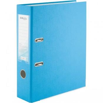 Папка-регистратор Delta 7.5 см, светло-голубая D1714-29C