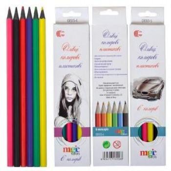 Карандаши цветные 6 цветов CR 555-6