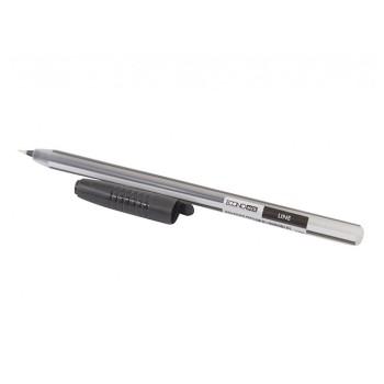Ручка масляная Economix Line 0,7 мм черная E10196-01