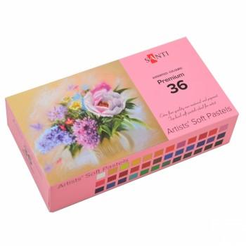 Пастель сухая Santi 36 цветов