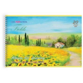 Альбом для рисования Cool For School Seasons на спирали 20 листов CF60903-04
