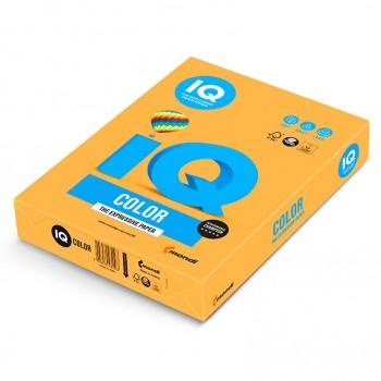 Бумага цветная А4 IQ Color Neon Orange (оранжевый)