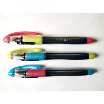 Ручка перьевая Optima Teacher ассорти
