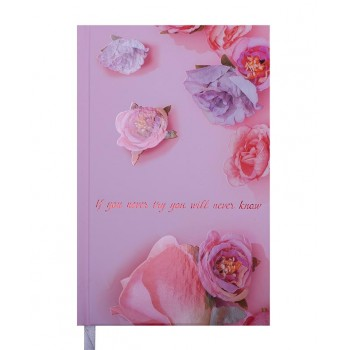Ежедневник А6 недатированный Spoleto, розовый BM.2607-10