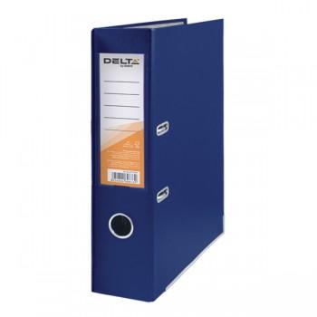 Папка-регистратор Delta 7.5 см синяя D1714-02C