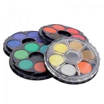 Акварельные краски Koh-i-noor 24 цвета 171506, пластиковая упаковка